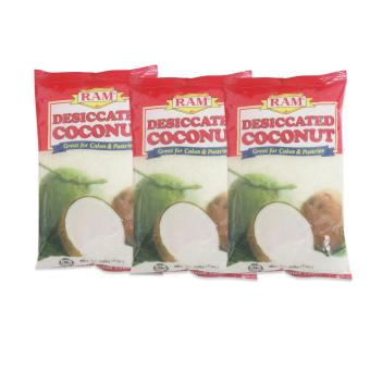 Ram Desiccated Coconut 24/200grams Set of 3 919007 W38 - 2