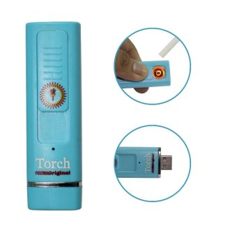 Rechargeable Torch Lighter-Light Blue - picture 2