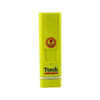 Rechargeable Torch Lighter - Yellow