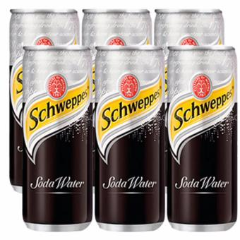 SCHWEPPES SODA WATER 330ML 3pcs Price Philippines