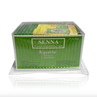 Senna Biguerlai Laxative Slimming Tea 2g by 25's Price Philippines