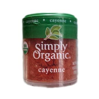 Simply Organic Cayenne Pepper 0.53oz Price Philippines