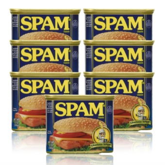Spam Classic 340g Set of 7 with FREE Flawless Papaya Soap