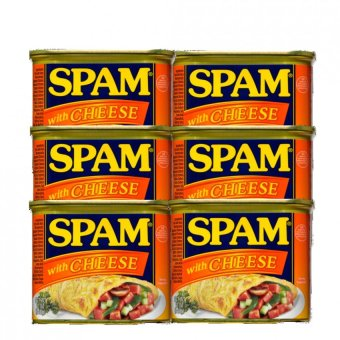 Spam with Cheese 340g Set of 6