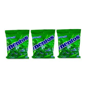 Spearmint Mentos 50 pieces 010120 3's