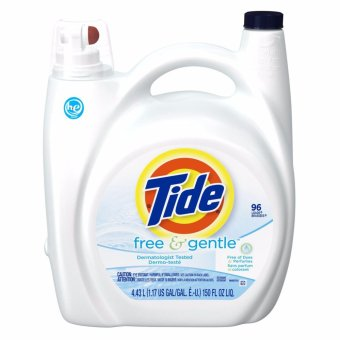 Tide Free & Gentle High Efficiency Liquid Laundry Detergent 96LD