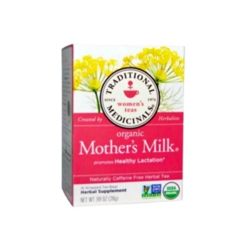 Traditional Medicinals, Organic Mother's Milk, Caffeine Free, 16Wrapped Tea Bags, .99 oz (28 g)