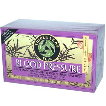 Triple Leaf Tea Blood Pressure Caffeine-Free 20 Tea Bags