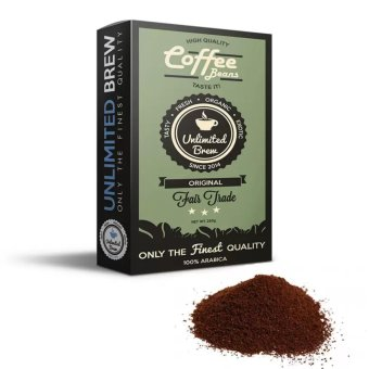 Unlimited Brew Ground Coffee Beans (Organic - Original)