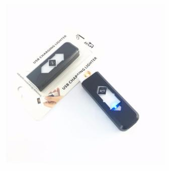 USB Charging Electronic Cigarette Lighter- Black /White