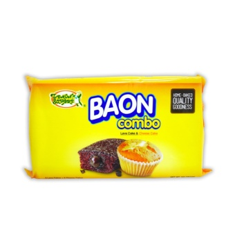 Yellow Lemon Square BAON Combo Lava Cake & Cheese Cake 360g405754 MP 5 Lava Cake + 5 Cheese Cake Price Philippines