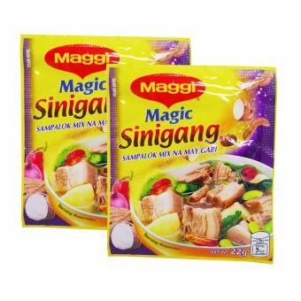 Yellow Maggi Magic Sinigang Sampalok Mix na May Gabi 22g 2's 376112w51 (SP)