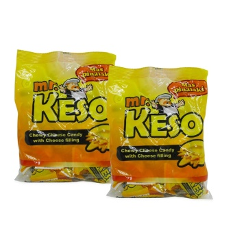 Yellow Mr. Keso Chewy Chees Candy w/ Cheese Filling 110g 343464 2'sw42 MP Price Philippines