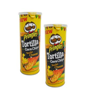 Yellow New Pringles Tortilla Corn Chips Macho Cheese 2's 110g105203 w42 Price Philippines