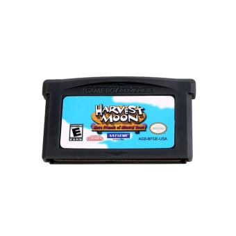 0 shipping fee Harvest Moon: Friends of Mineral Town Game Boy Advance English Card Only Tested - intl
