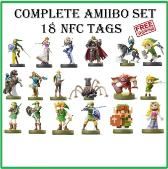 0 shipping fee Sarda Wilderness Amiibo Nfc 18 Sets Of Cards - intl