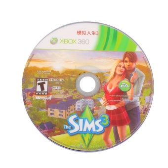 0 shipping fee The Sims 3 Xbox 360 Brand New Factory Sealed Vedio Game Disc Playing Colors PC - intl