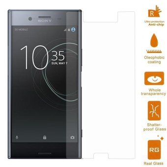 0.3mm Tempered Glass Screen Protector Arc Edge for Sony Xperia XZ Premium - intl