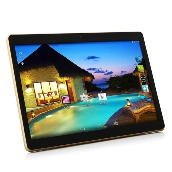10'' Inch Octa Core Android 5.1 Dual Sim 3G IPS Phone Tablet PC4+64GB Phablet~ - intl