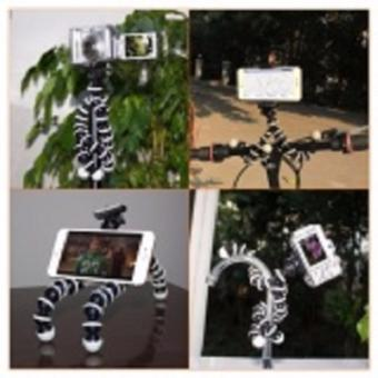 10 inches Medium Octopus Flexible Tripod Stand Gorillapod for Gopro Sony Sjcam DSLR , Nikon Canon w/ Phone mount - 4