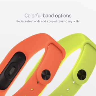 10 pcs Silicone Replacement Watchband Watch Band Strap for Xiaomi Mi Band 2 Smart Bracelet - 2