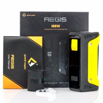100 % Authentic Geekvape Aegis 100w mod ( Yellow)