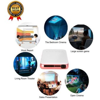 [100% Genuine] 2017 NEW Wejoy Digital Projector Pocket Beamer Wifiwith Airplay Miracast DL-S6 Plus 1G/32G Rom - intl Price Philippines