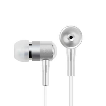 100% High Quality and New Brand Earphone Headset IN-Earphone White - Intl