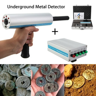 1000m Long Range Search Silver Metal Underground Detection Locator Detector Scanner AKS Handhold 3D Professional Metal Diamond Finder Gold - intl