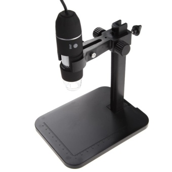 1000X 8 LED 2MP USB Digital Microscope EndoscopeMagnifier Camera+Lift Stand - intl