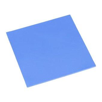 100x100x2mm CPU Thermal Pad Heatsink Cooling Conductive SiliconePads Blue - intl - 5
