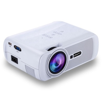 1080P Android Full HD LED WIFI Smart 3D Multimedia Video Projector2 Colors - intl