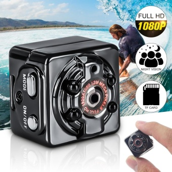 1080P Full HD IR Night Vision Mini DV Camera Car Sports DVR VideoRecorder Cam - intl