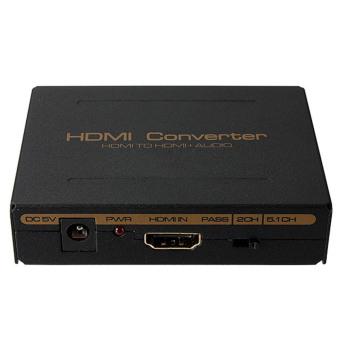 1080P HDMI to HDMI Optical + SPDIF + RCA L/R Extractor TV Converter Audio Splitter - intl - 4