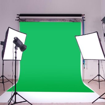 10x10ft Green Screen Muslin Cloth Backdrop Photo Studio Photography Background - intl
