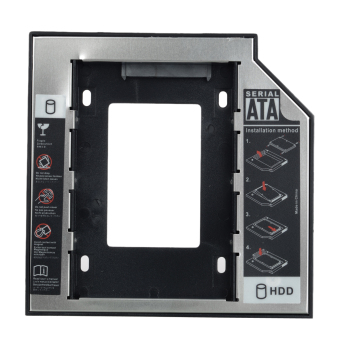 "12.7mm 2.5"" SATA to SATA HDD / SSD Caddy for Optical Drive - intl Price Philippines"
