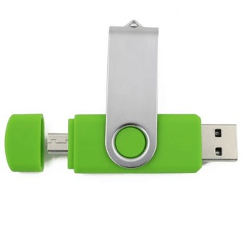 128GB OTG Flash Drive Memory Stick U Disk for Android PC (green)