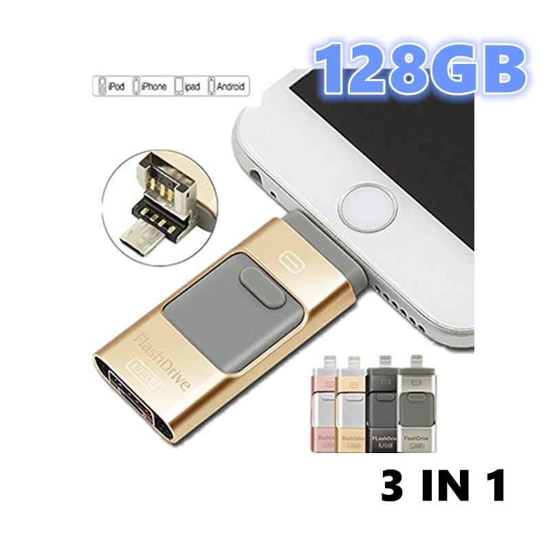 ... 128GB Pen Drive for Andorid/apple Iphone 6s USB Flash Drive 128gb USB Stick Andorid ...