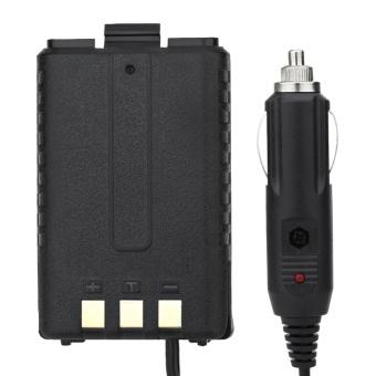 12V Car Charger Battery Eliminator for Baofeng Dual Band Radio UV5R5RA 5RE - intl - 5