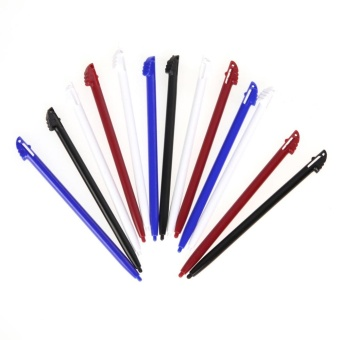 12x Multi Colors Touch Screen Stylus Pen for Nintendo 3DS N3DS XL LL - intl