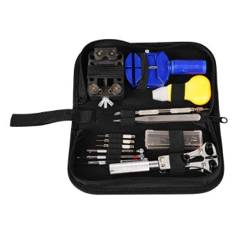 13-in-1 Watch Repair Tool Set Kit (Black)