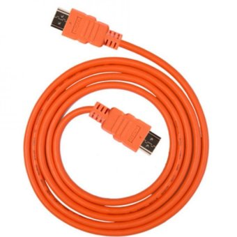 1.5 Meter HDMI To HDMI With Ethernet (Orange)