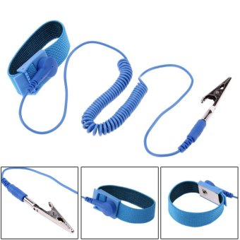 1.8M Wire Anti-Static PVC Wristband with Discharge Cables Wrist Strap - intl - 3