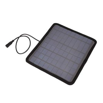 18V 5.5W Solar Panel Car Automobile Battery Power Charger Backup Outdoor Camping - 4