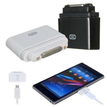 1PC Micro USB to Magnetic Charging Adapter for Sony Xperia Z1 Z2 Z3- intl