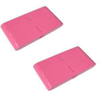 20000mAh Powerbank Lovely Buy One Take One(Pink)