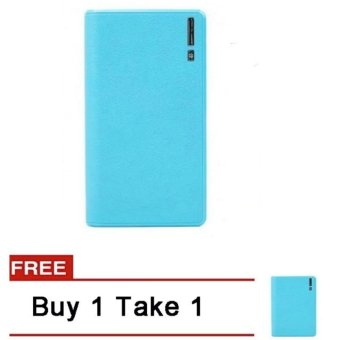 20000mAh Wallet Style Power Bank (Blue) Buy 1 Take 1
