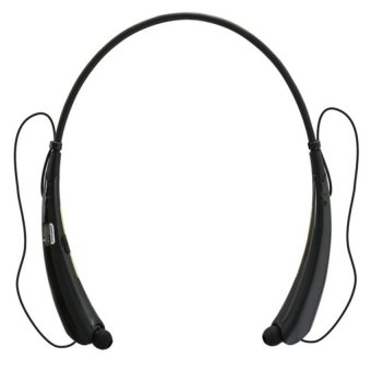2015 HBS-760 Sport Bluetooth Headset for LG Tones iphone Samsung HBS760 Wireless Headphones Earpod Sports Earphone(Black & Blue) - picture 2