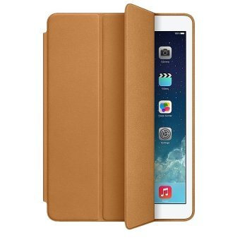 Presyo 2015 New Top Smart Cover for Ipad Air 2 Case Ultra Thin FlipLeather Stand Luxury Original Capa Funda for Apple iPad air2Case(Brown) in Philippines