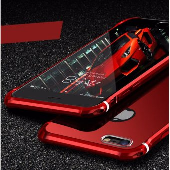 2017 JBL For Apple iPhone 7 Plus Ultra thin Case Luxury Plating Aluminum Alloy Frame Mirror Back Cover Phone Cases - intl Price Philippines